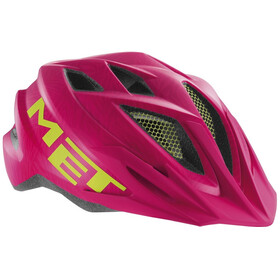 MET Crackerjack Helm pink/green texture